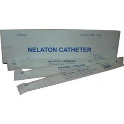 Nelaton Catheters 14FG 40cm Firm Sterile Each