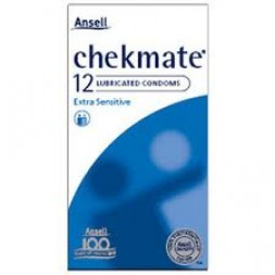 Condoms Lubricated Checkmate Ansell 6076N Box of 144