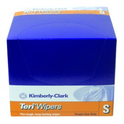 Kimberley Clark Teri Wiper Small 32.5 x 32cm Box of 75