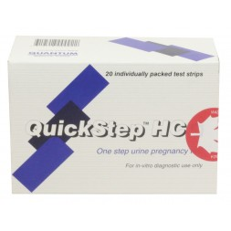 Pregnancy Test Quick Step HCG x 20 Test Individually Packed