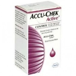 Accu Chek Active Control Solution 2 x 4ml (Repl Glucotrend) Set