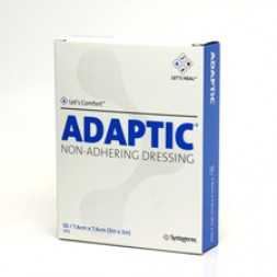 Adaptic Non-Adherent Dressings 7.6 x 7.6cm Box of 50