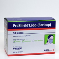 Proshield Surgical Masks with Ear Loops (Box of 50)