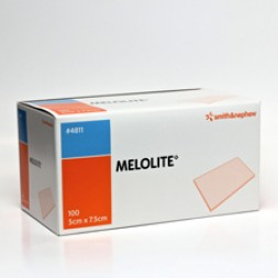 Melolite Non-Adherent Dressings 7.5 x 5cm Box of 100