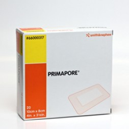 Primapore Dressing Low Adherent Pad Cloth Backing 8 x 10cm Box of 20