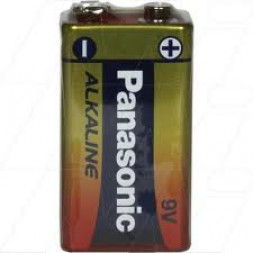 Battery Panasonic Heavy Duty 9V Each