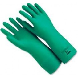 Solvex Flockline Chemical Handling Gloves 33cm 7-71/2 Pair