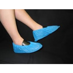Overshoe Cover PVC Elastic Blue Waterproof Box of 1000