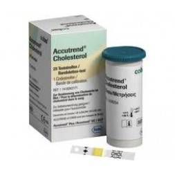 Accutrend Cholesterol 25 Strips