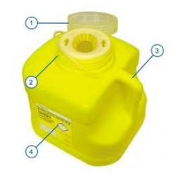 Sharpsafe Bio-Hazard Collector 4 Litre Each