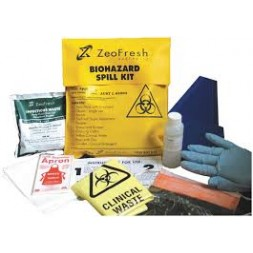 Zeofresh Biohazard Spill Kit (Refill Kit) Each