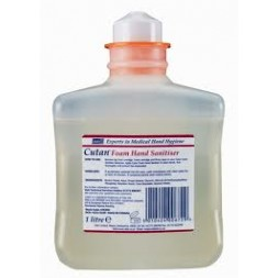 Cutan Alcohol Foam Hand Sanitiser 1 Litre Cartridge (6195)