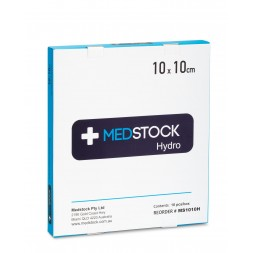 Medstock Hydrocolloid Dressing 10 x 10cm Box of 10