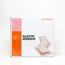 Allelvyn Hyrdocellular Dressings Adhesive 12.5 x 12.5cm Box of 10