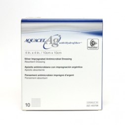Aquacel Ag Antimicrobial Dressing 10 x 10cm Box of 10