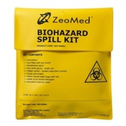 Zeomed Biohazard Spill Kit Each