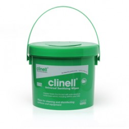 Clinell Universal Sanitising Wipes Hospital Grade Bucket 225