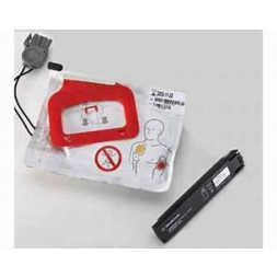 Lifepak CR Plus Adult Pads - 1 Set Electrodes with Battery Rod