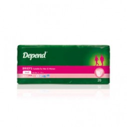 Depend Normal 900ml Small Yellow 3 x 20 (1734) Ctn of 60