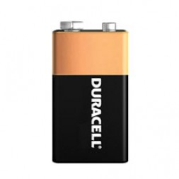 Battery Duracell Alkaline Size 9V (Bulk Pack) Box of 12