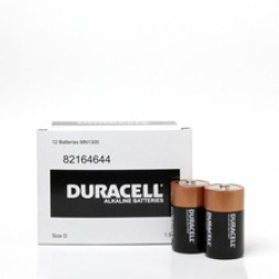 Battery Duracell Alkaline Size D (Bulk Pack) Box of 12