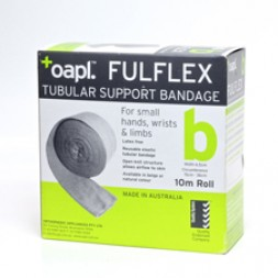 Fulflex Tubular Support Bandage Latex Free Size B 10m Flesh Per Roll