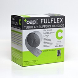 Fulflex Tubular Support Bandage Latex Free Size C 10m Flesh Per Roll