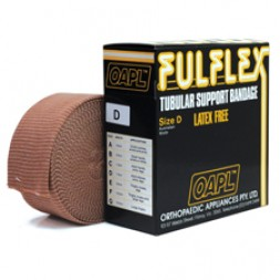 Fulflex Tubular Support Bandage Latex Free Size D 10m Flesh Per Roll