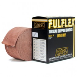 Fulflex Tubular Support Bandage Latex Free Size F 10m Flesh Per Roll