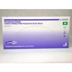 Safeskin Purple Nitrile Xtra High Risk Medium Box of 50 - MAX BUY 10 BOXES ONLY DURING COVID 19