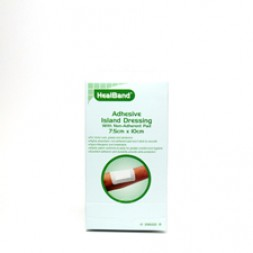Healband Island Dressing 7.5 x 10cm Box of 100