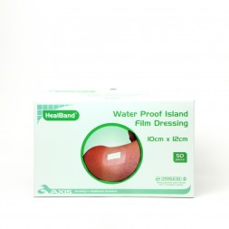 Healband Waterproof Island Film Dressing 10 x 12cm B50