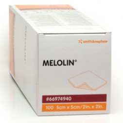Melolin Non-Adherent Dressings 5 x 5cm Box 100