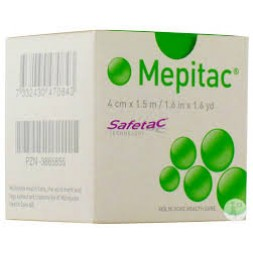 Mepitac Fixation Tape 4cm x 1.5m Roll 298400