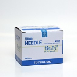 Needles Terumo 19G x 38mm Box of 100