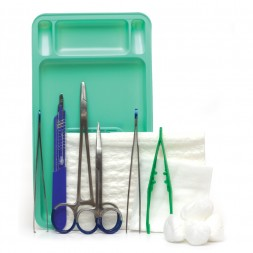 Sage Suture Pack NO3 with 5 S/Steel Instruments Sterile