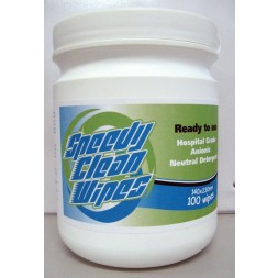 Speedy Clean Wipes Hospital Grade Neutral Detergent (100) MAX BUY 2 ONLY DURING CORONAVIRUS - IN STOCK NOW