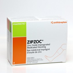 Zipzoc Zinc Oxide Impregnated Bandages Stocking Sachets Rd Box of 4